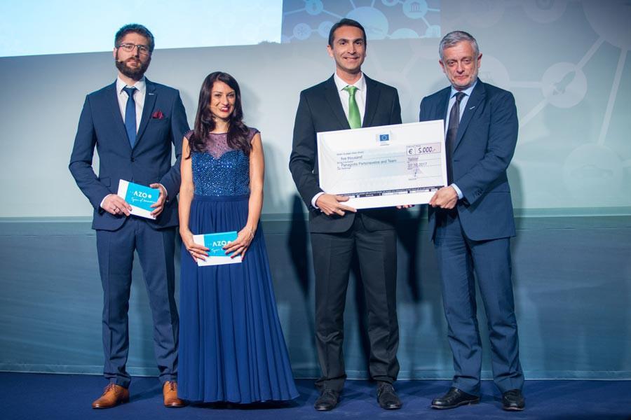 Winner EC Prize BigData & Philippe Brunet