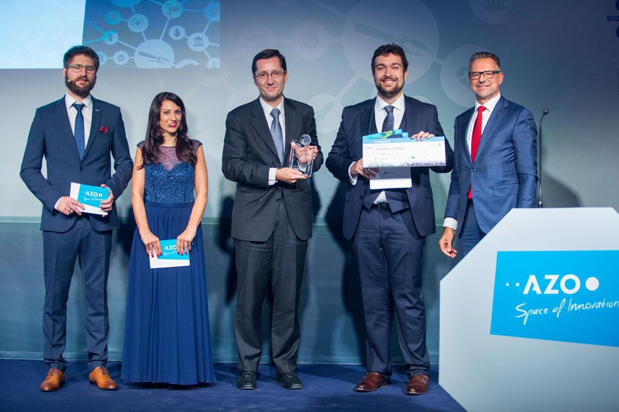 Overall Winner 2017 & Dr Josef Aschbacher