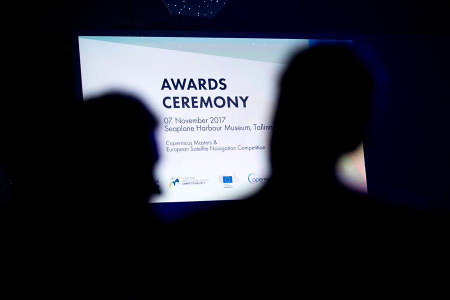 Joint Awards Ceremony Copernicus Masters & European Satellite Navigation Competition 2017 Tallinn