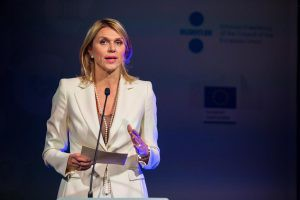 Urve Palo, Minister of Entrepreneurship and Information Technology of the Republic of Estonia