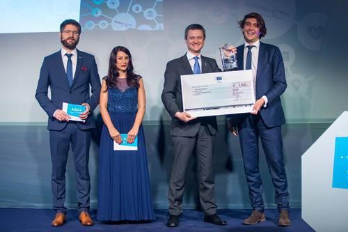Winner EC Security Challenge & Andreas Veispak