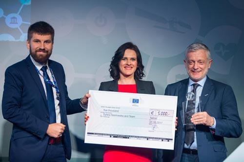 Winner EC Prize Sustainable & Philippe Brunet