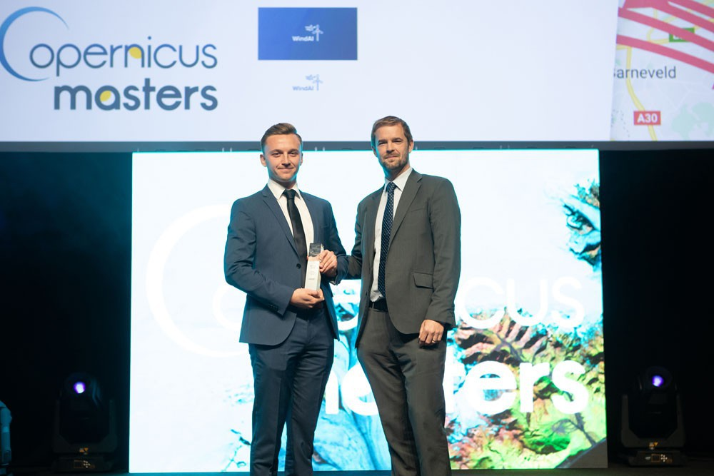 Copernicus Masters Catapult Data Visualisation Challenge Winner 2018