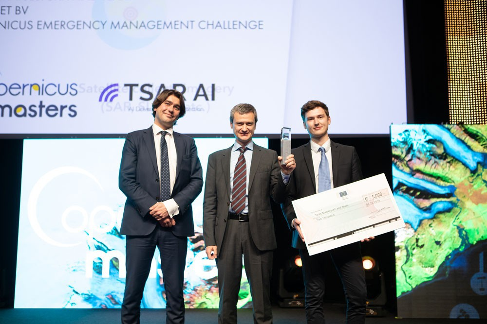 Copernicus Masters Copernicus Emergency Management Challenge Winner 2018