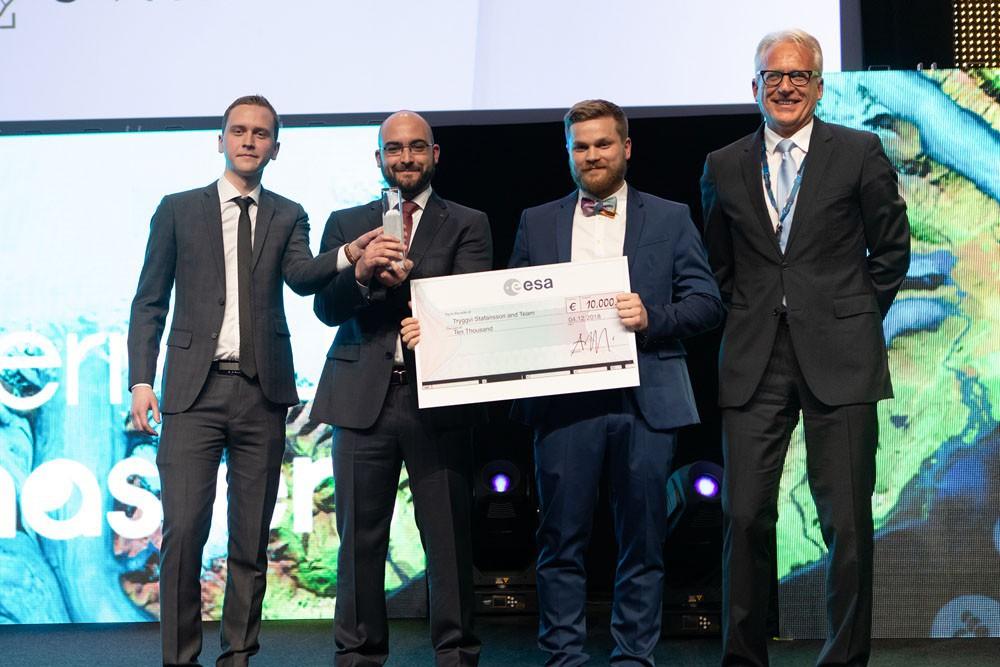 Copernicus Masters ESA EO Future Challenge Winner 2018