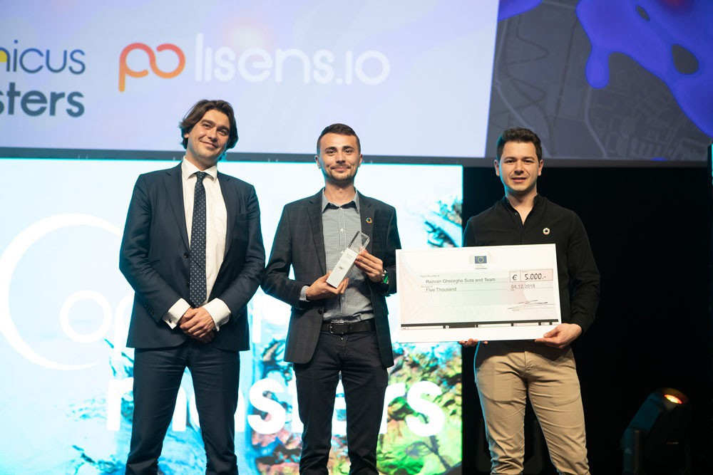 Copernicus Masters Copernicus Sustainable Development Challenge Winner 2018