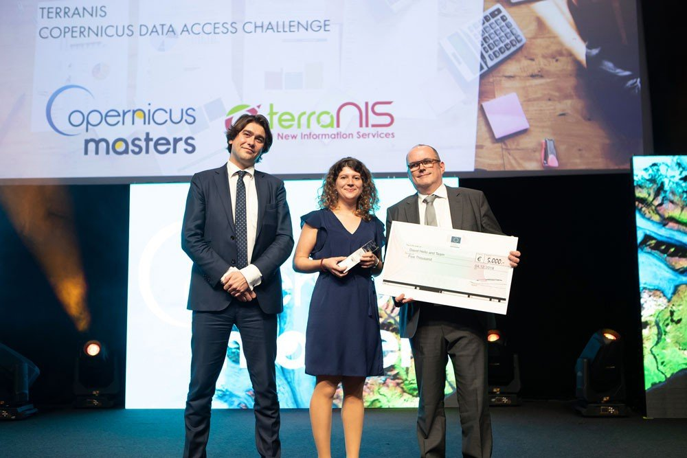 Copernicus Masters Copernicus Data Access Challenge Winner 2018