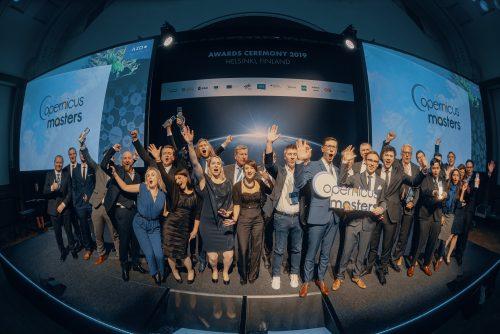 Copernicus Masters Awards Ceremony 2019 - All Winners