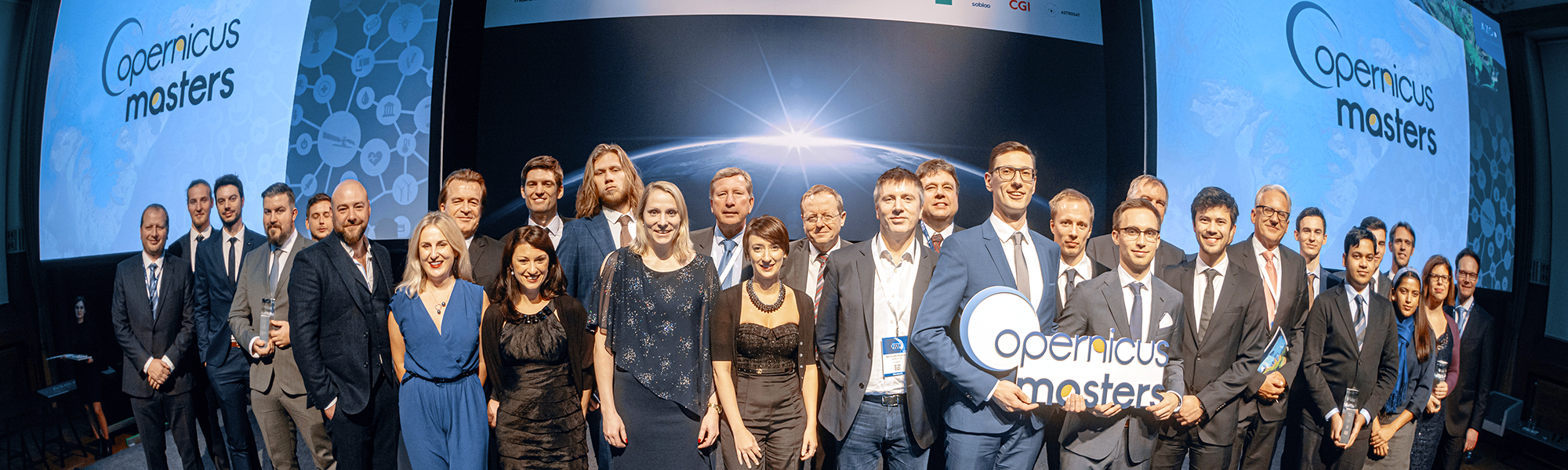 All winners of the Copernicus Masters 2019