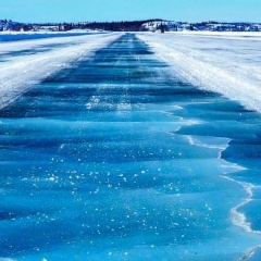 Safe Navigation on Ice in Polar Regions
